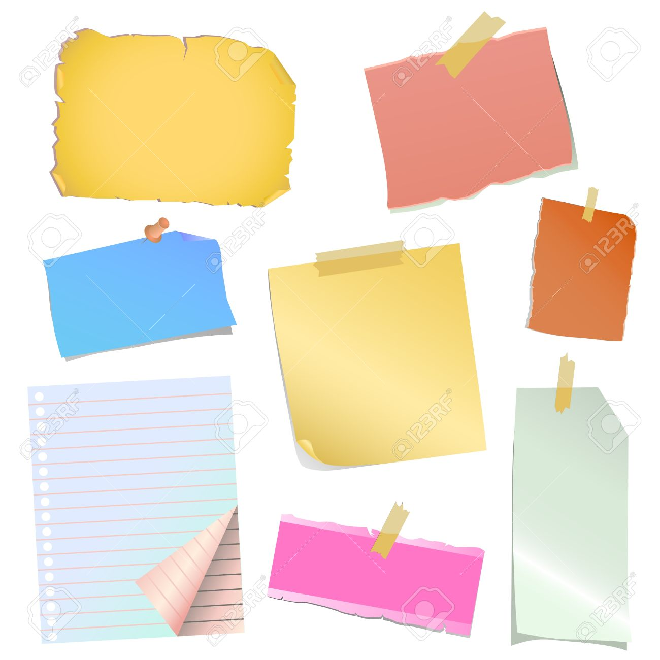 Free vector graphic sticky note note info paper free image on - Sticky Notes Note Paper Vector Illustration