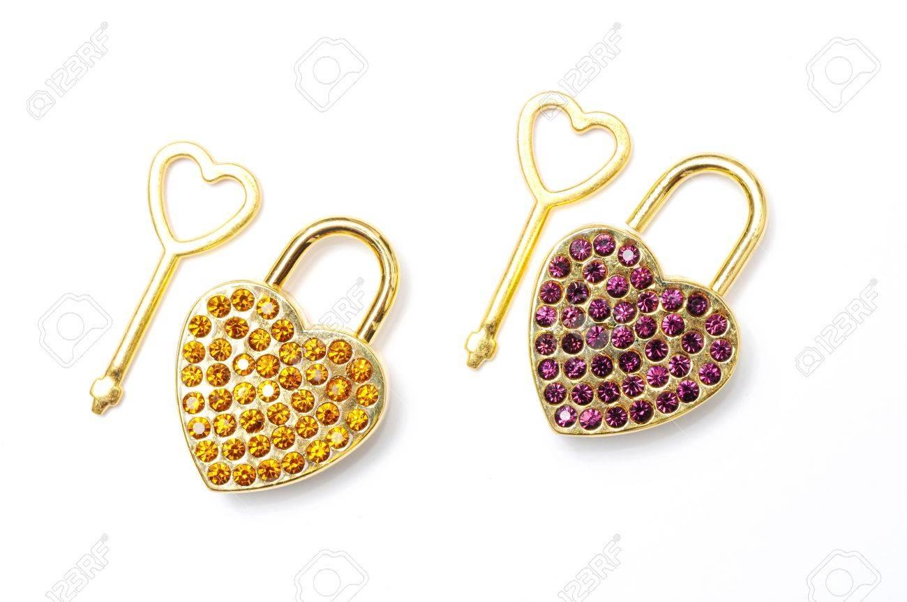 key of love, key of heart Stock Photo - 13657193