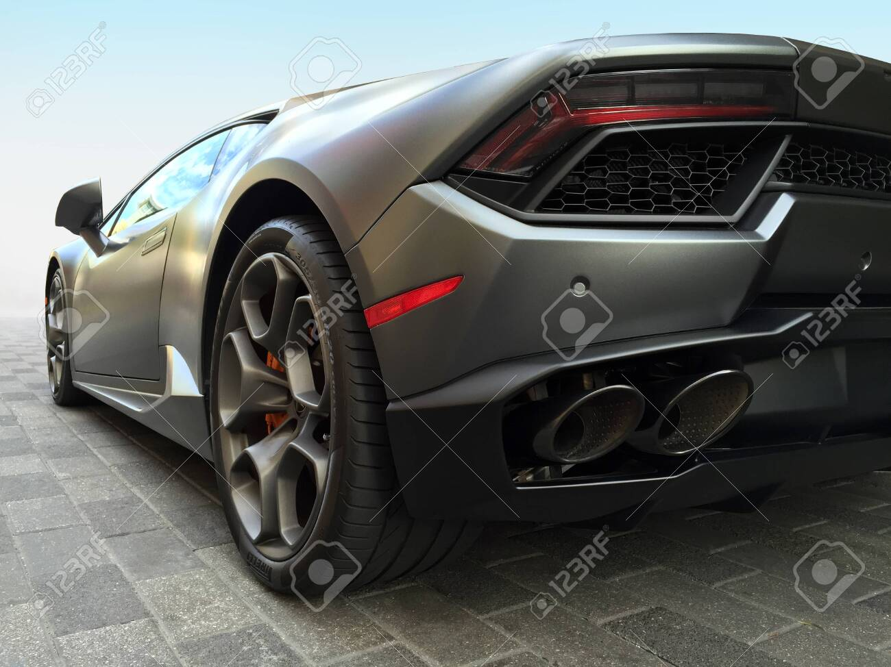Houston TX, October 9, 2016 A Lamborghini Huracan at the Lamborghini Festival - 141002705