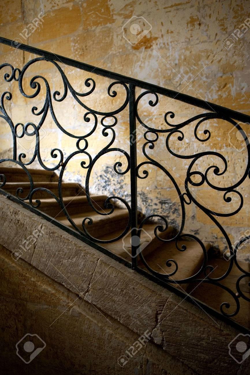 Barandillas De Hierro Forjado Casa Planells Esquina De Diagonal  ~ Barandas De Hierro Para Escaleras Interiores