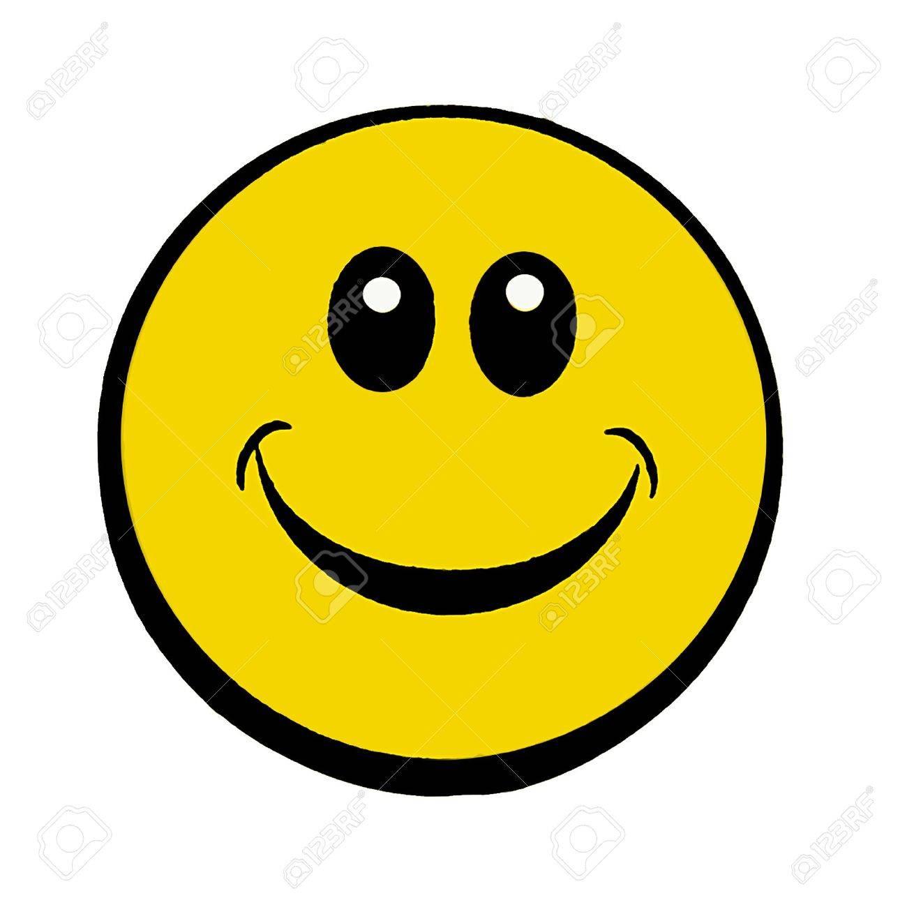 happy smiley face Stock Photo - 6848956