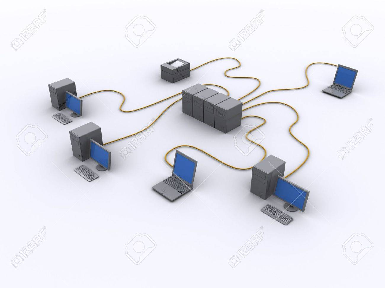 a picture of a wired network diagram stock photo picture and stock photo a picture of a wired network diagram