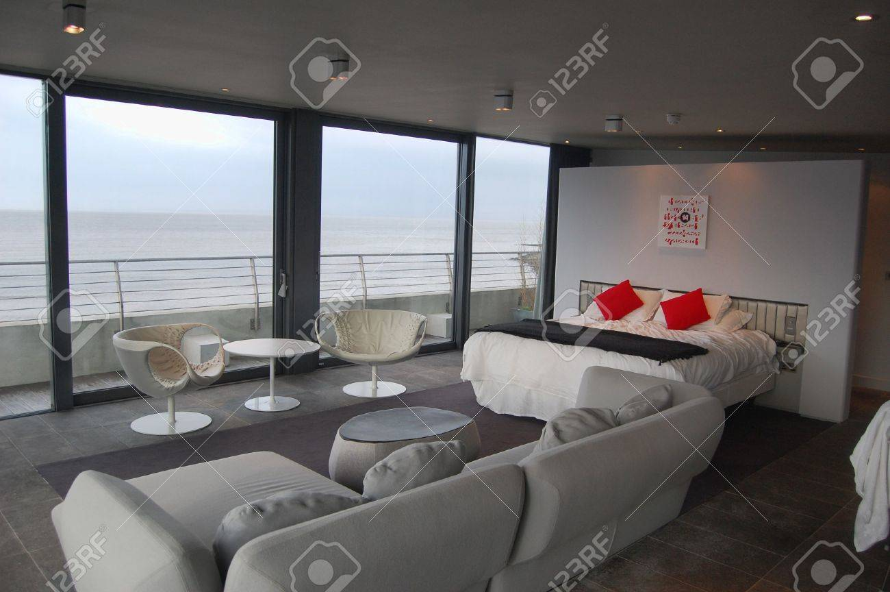 modern penthouse apartment in a luxury hotel stock photo picture
