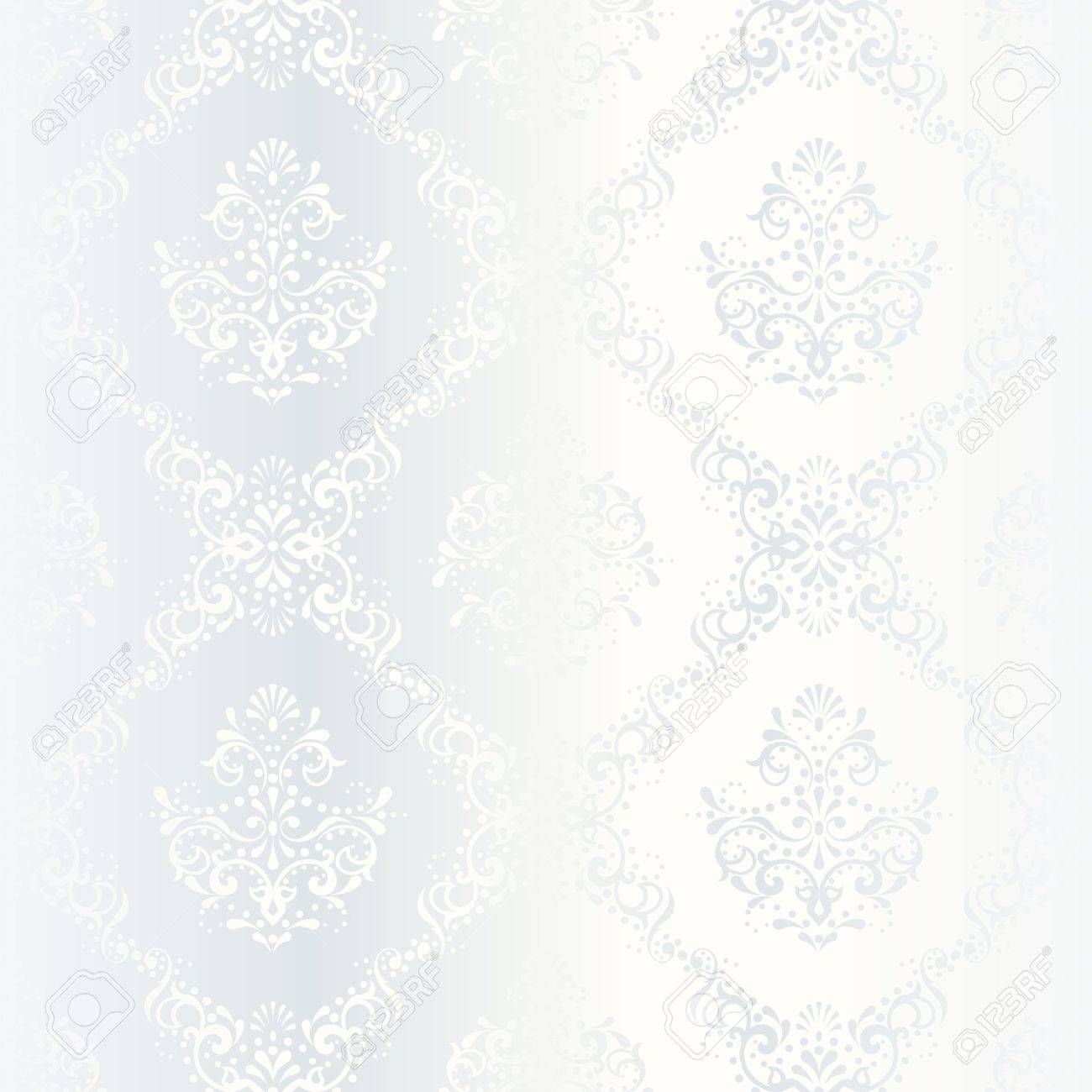 elegant white seamless pattern, prefect for wedding designs. The tiles can be combined seamlessly. Graphics are grouped and in several layers for easy editing. The file can be scaled to any size. Stock Vector - 5116812
