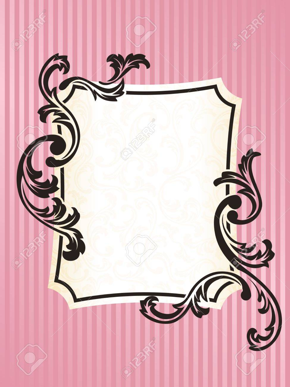 easy frame designs photo elegant rectangular frame design inspired by french rococo style graphics are