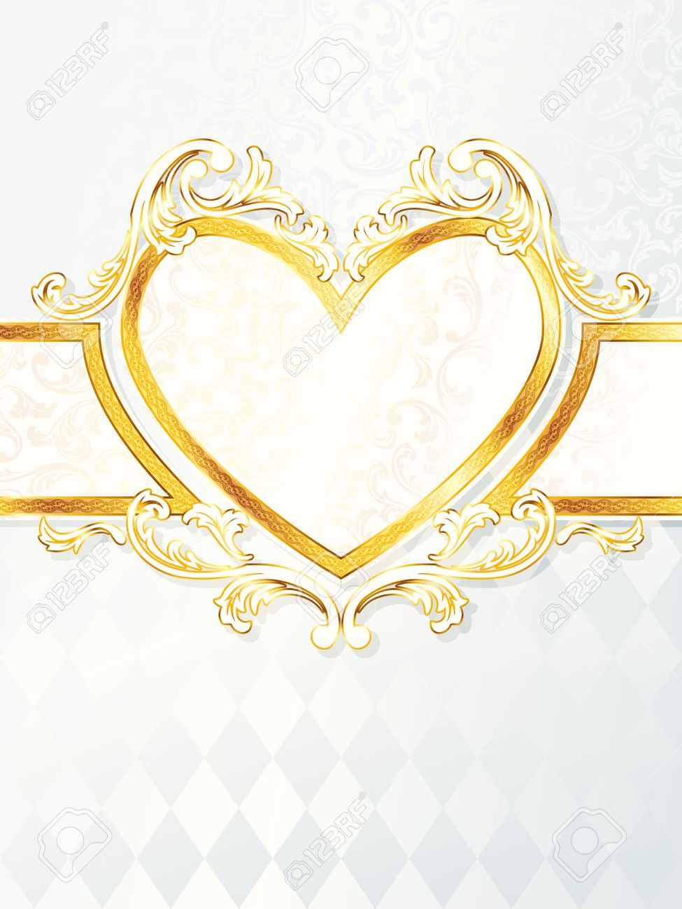 Weiß und Gold Hochzeit
