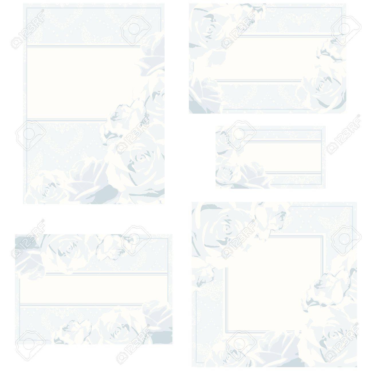 elegantes diseos de blancos y plata para de boda tarjetas de lugar etc