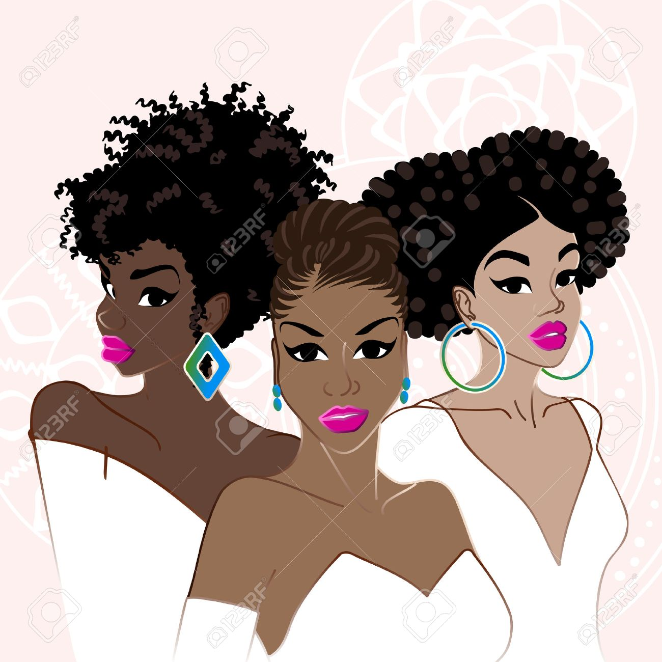 6,651 Afro Stock Vector Illustration And Royalty Free Afro Clipart