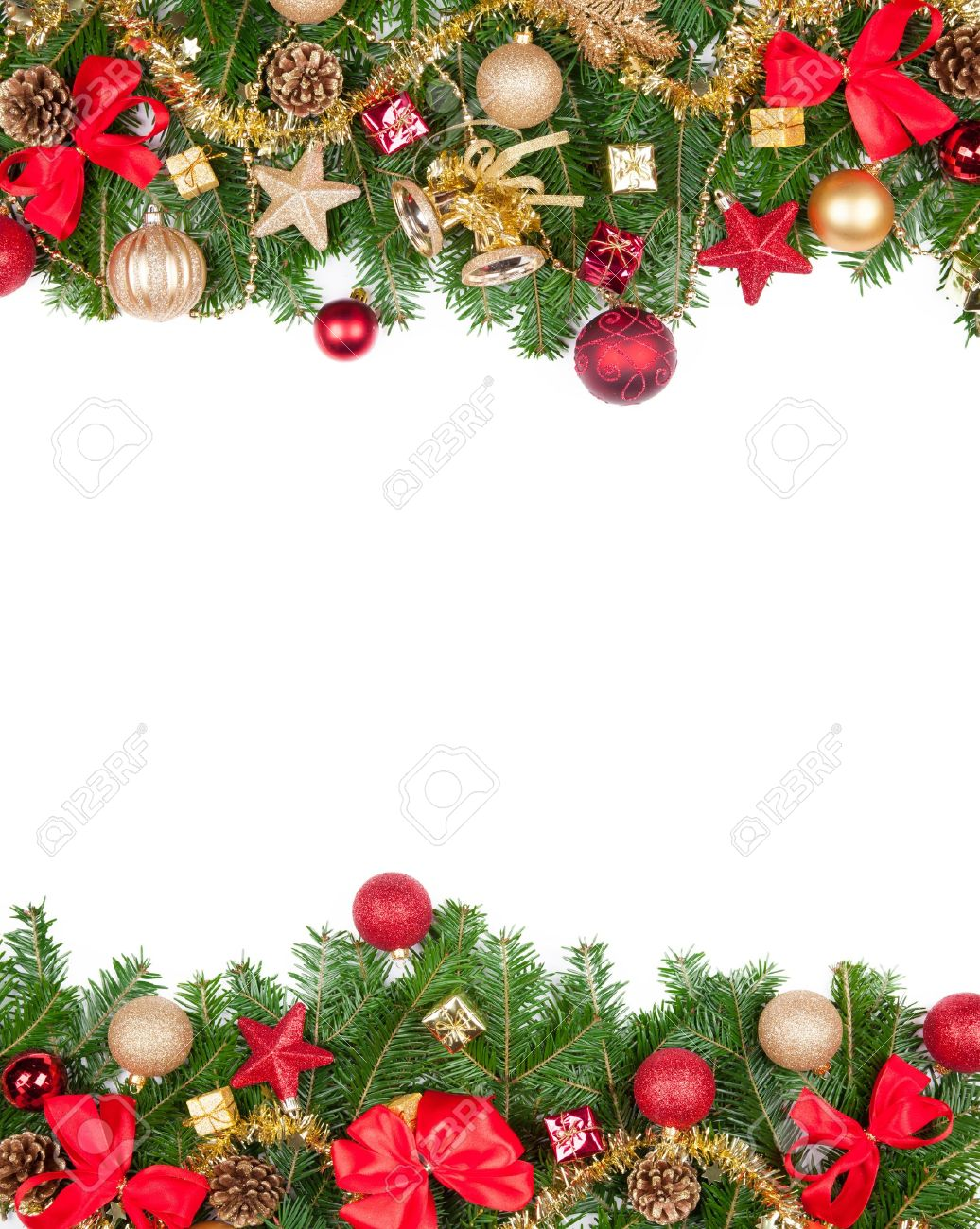 Christmas Frame.Christmas Frame With Free Space For Text