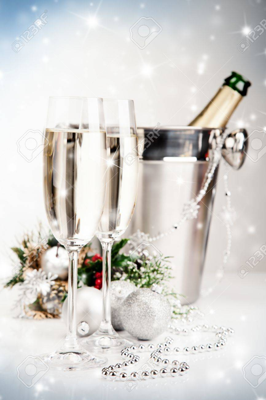 Celebration theme with champagne wine Stock Photo - 16528147