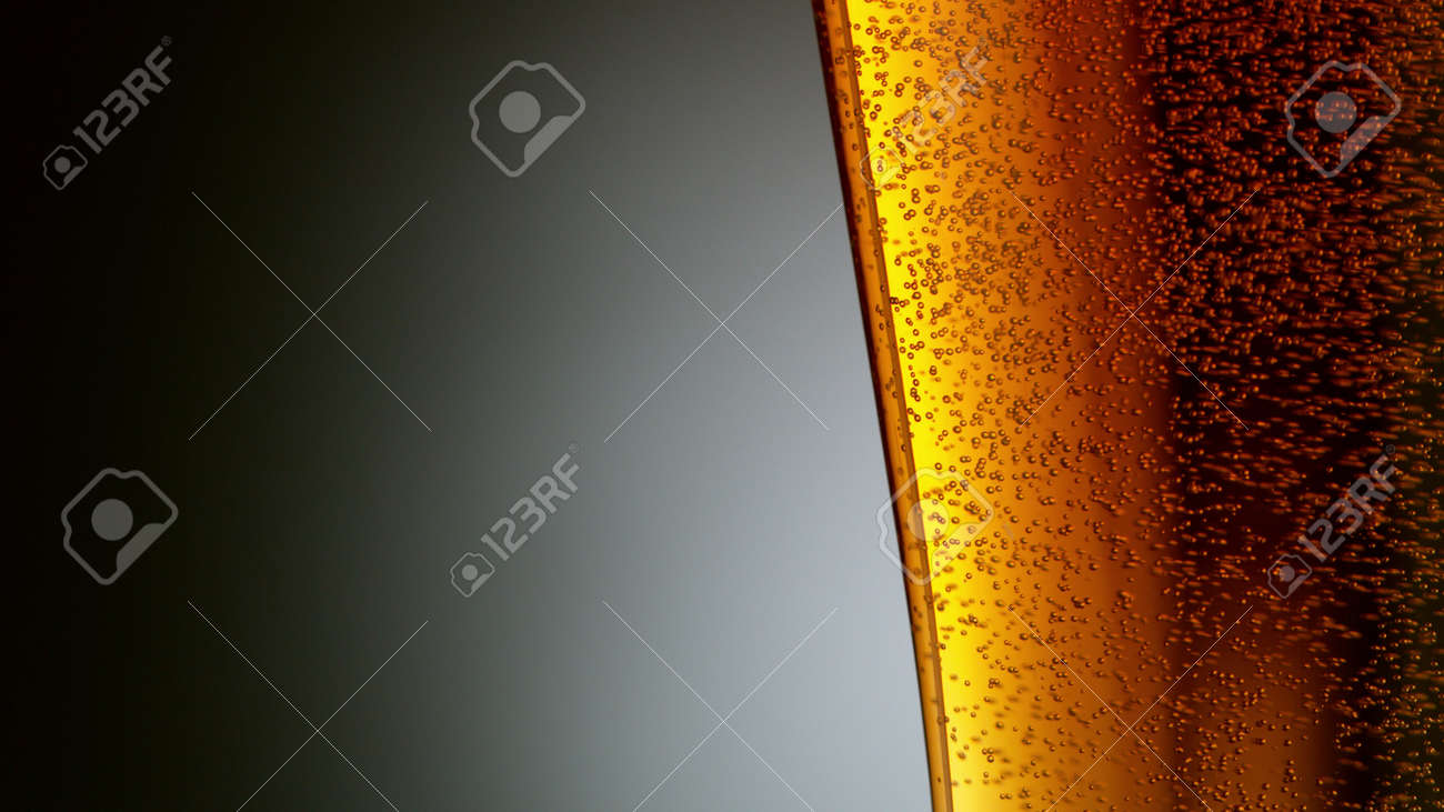 Pouring Glass of scotch whiskey and ice. Freeze motion of splashing liquid. - 170236870