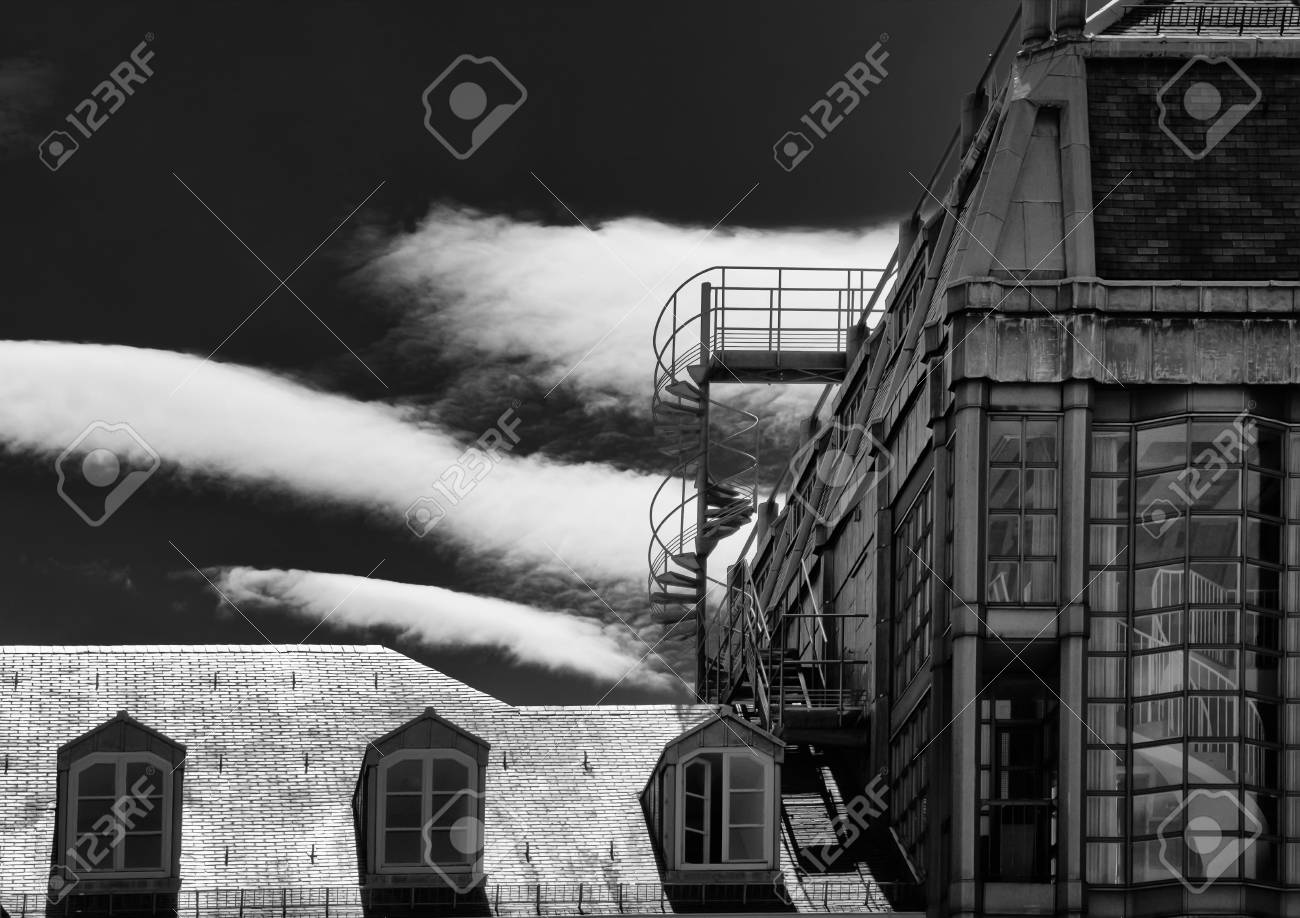 architecture in black and white Stock Photo - 12965058