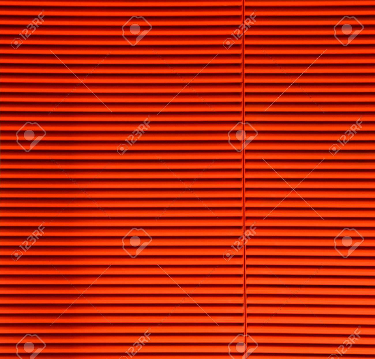 Orange Striped Slats Stock Photo - 10255721