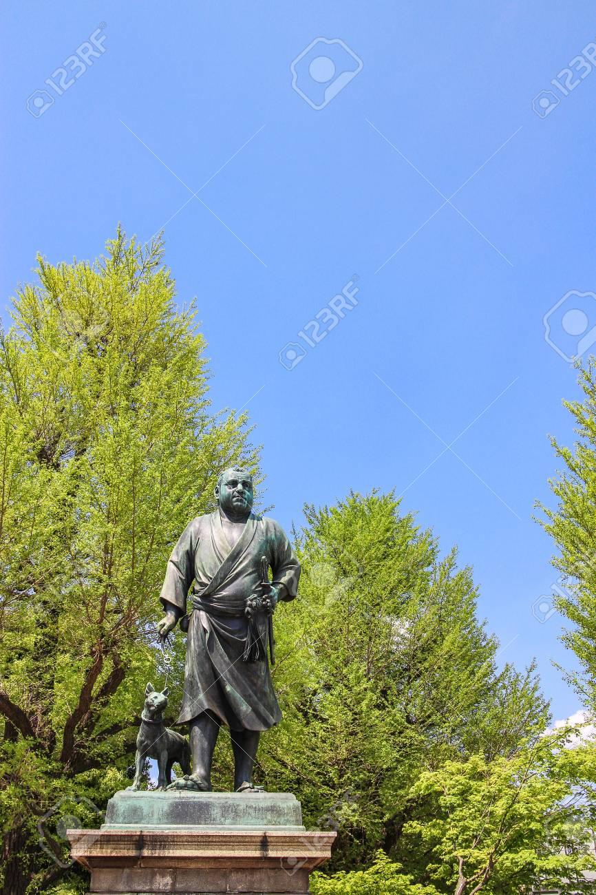 隆盛 銅像 西郷