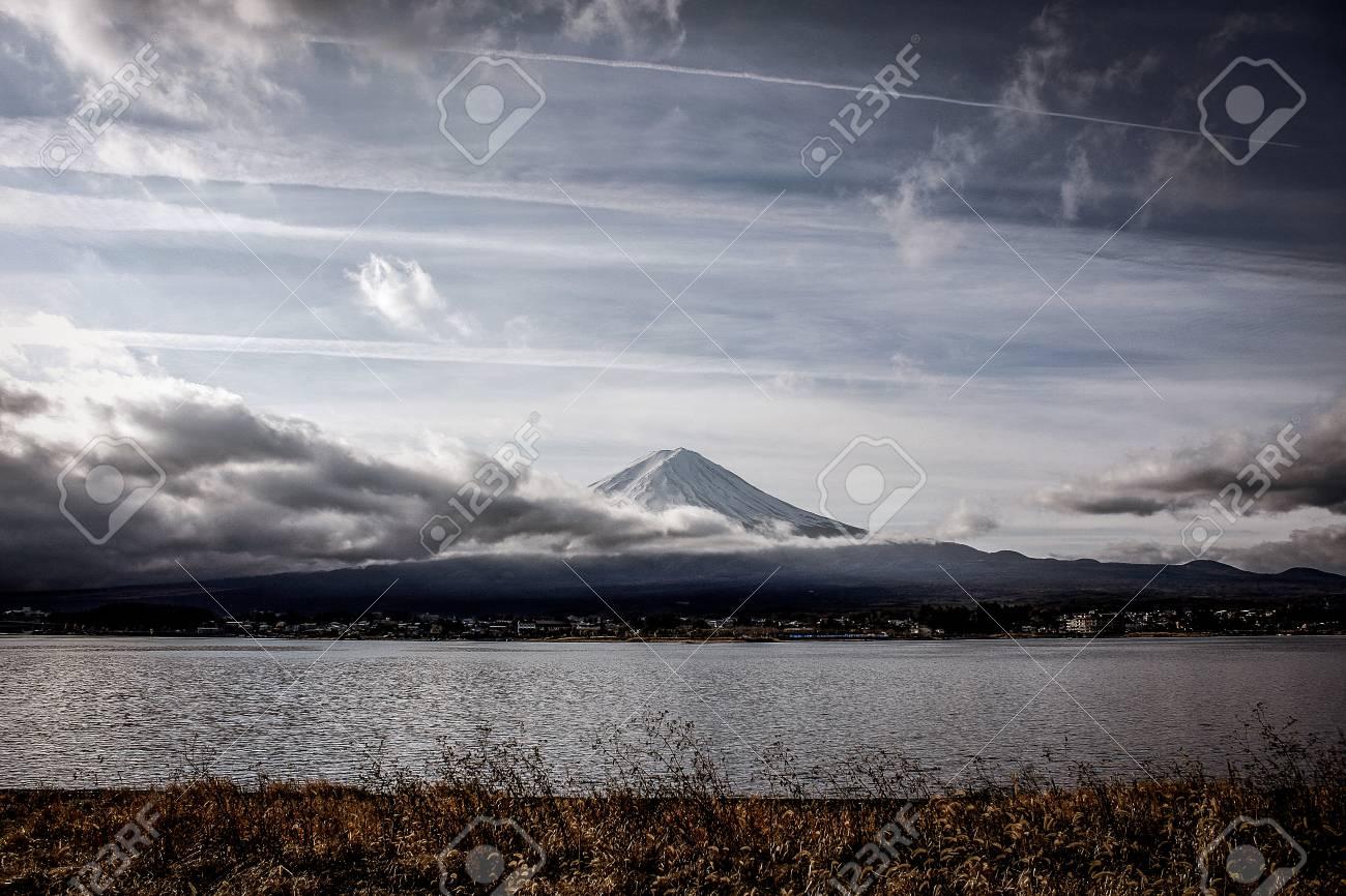 Mountain Fuji in japan - 100354621