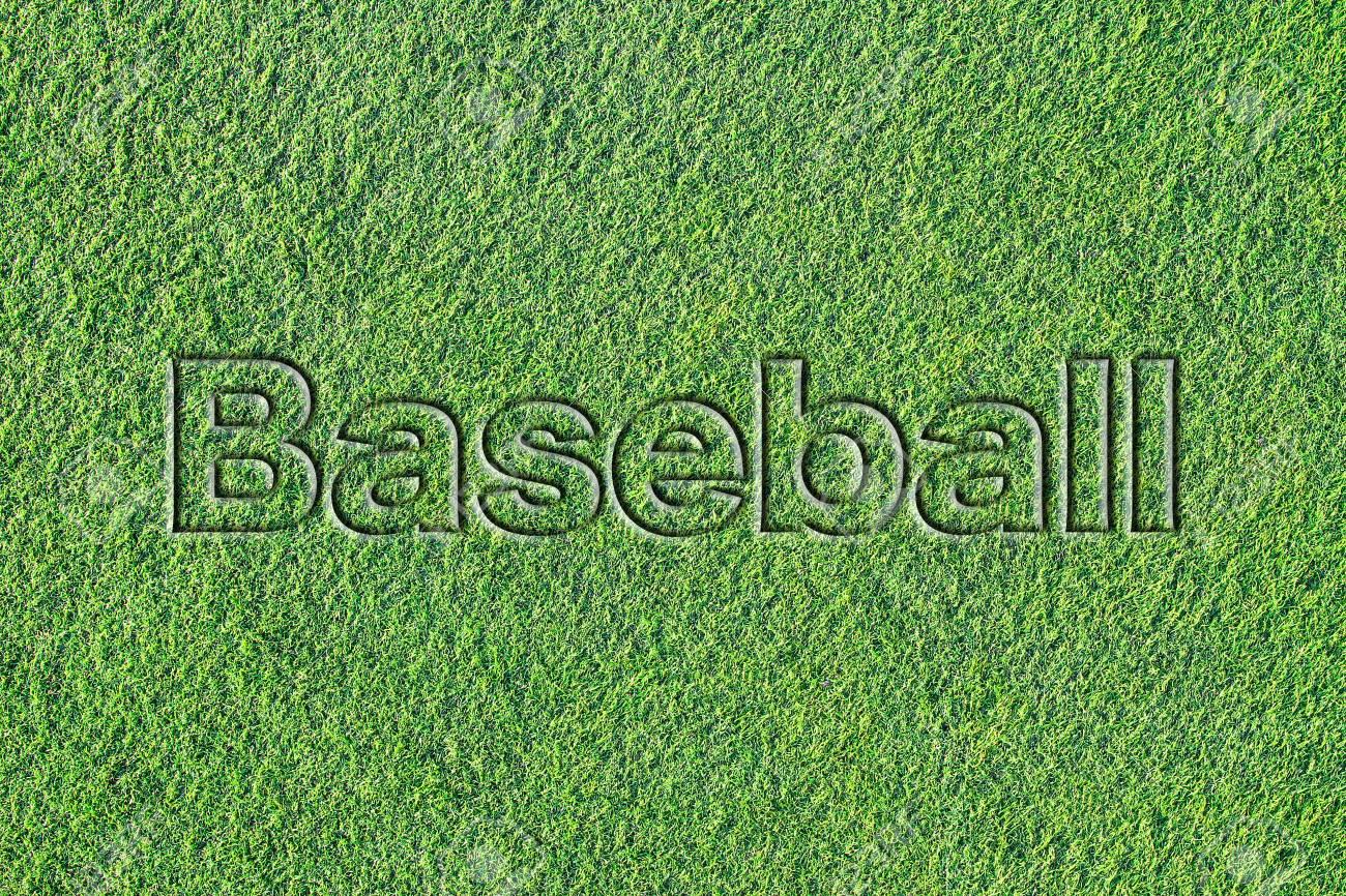 Message on Artificial turf (Baseball) - 103008595