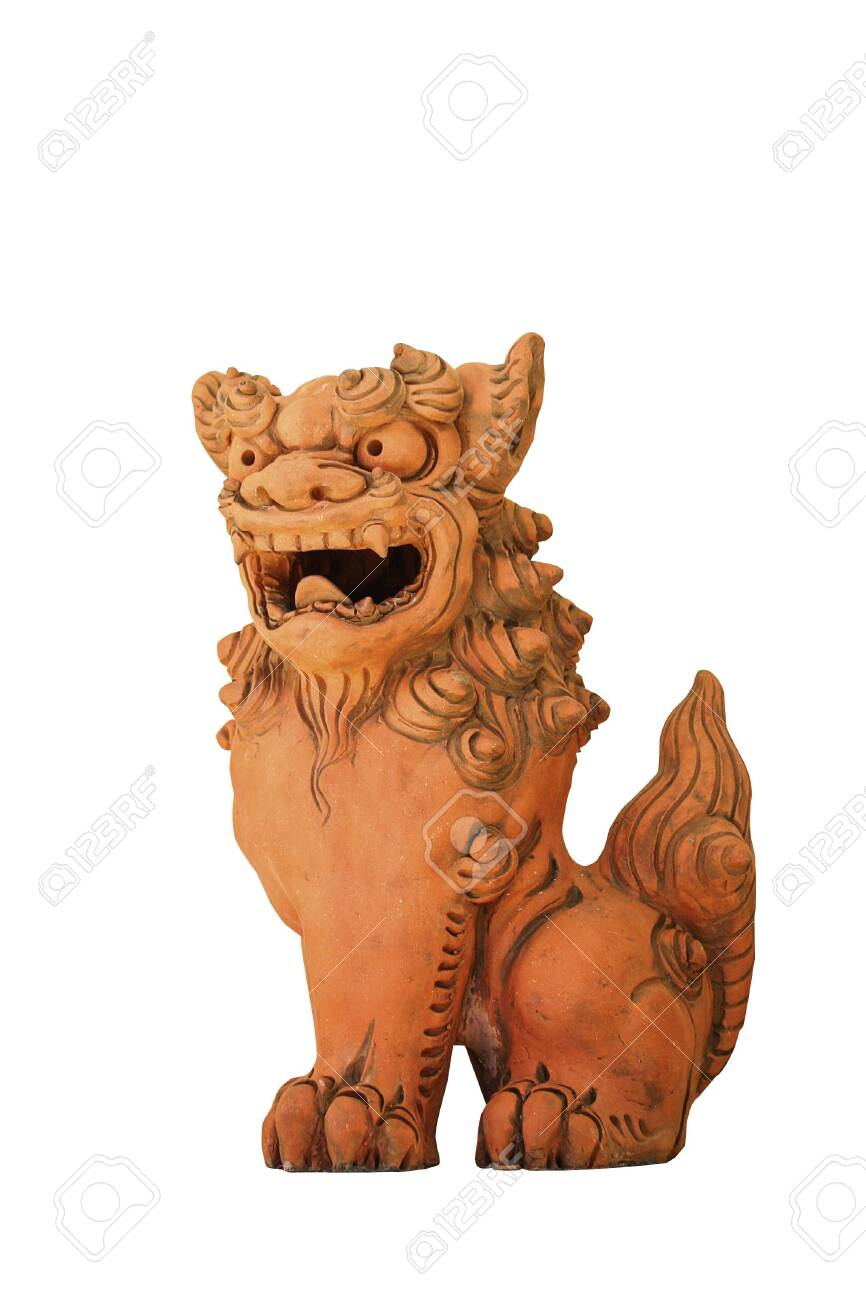 Chinese guardian lions - 132167334