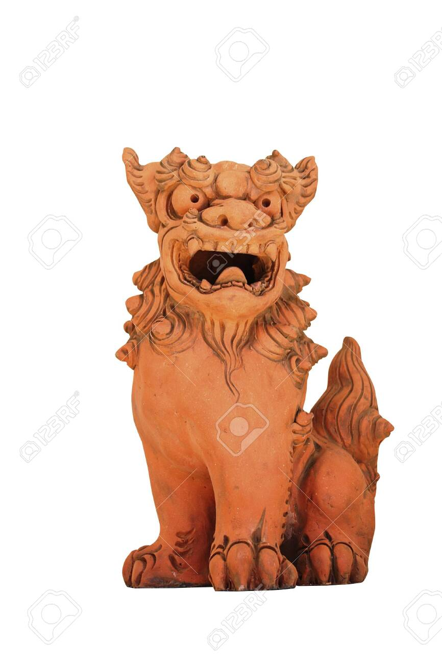 Chinese guardian lions - 132167383