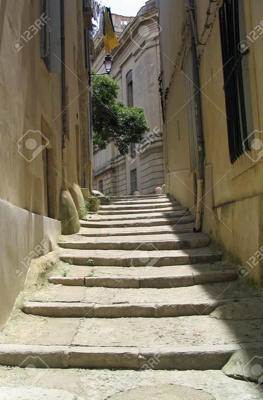 Steps in Montpellier France - 4589382