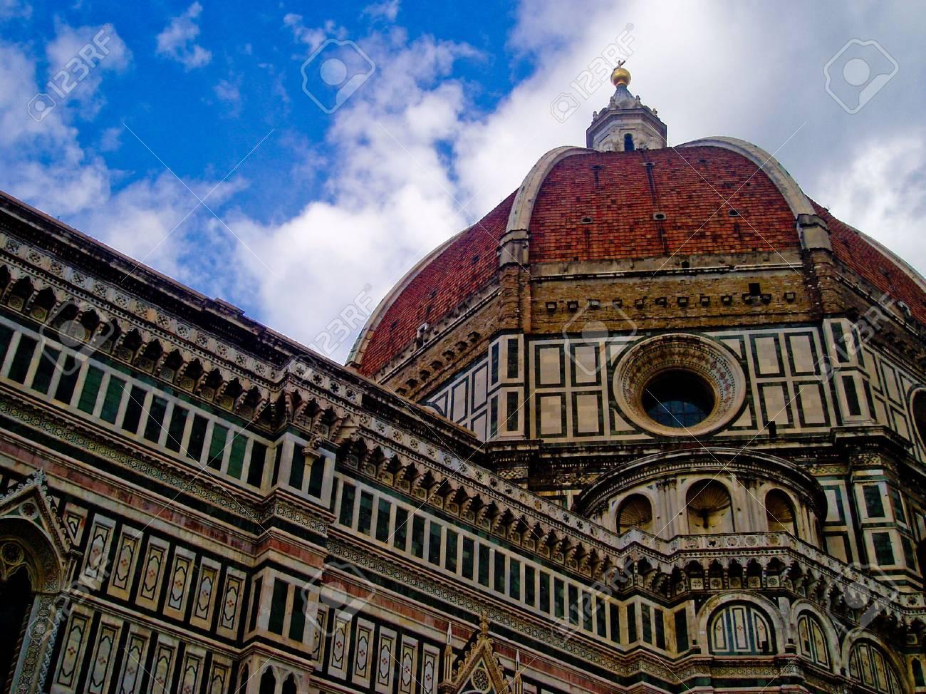 Basilica di Santa Maria del Fiore in Florence Italy - 4839284
