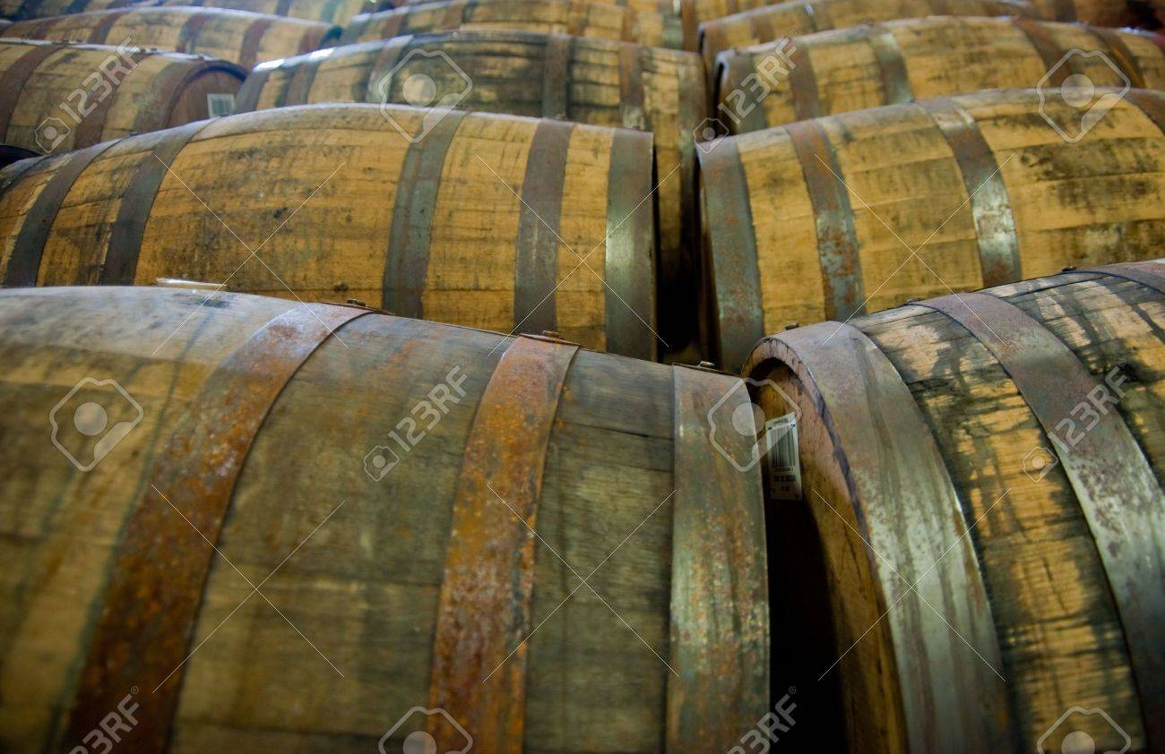 Scotch whisky barrels - 5696007