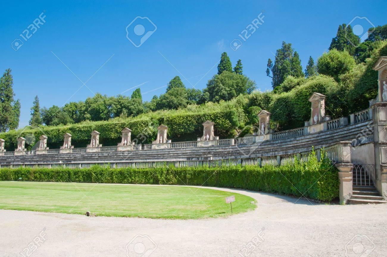 Boboli Gardens in Florence Italy - 8428039