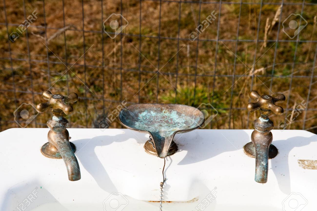 Picture of: Antique Pedestal Sink Stock Photo Picture And Royalty Free Image Image 17861290