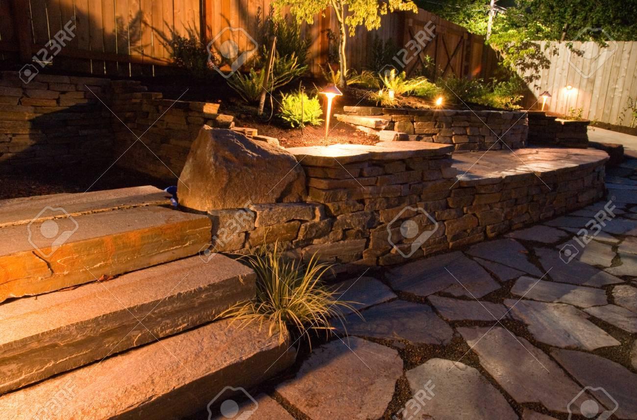 Urban backyard - 32135368