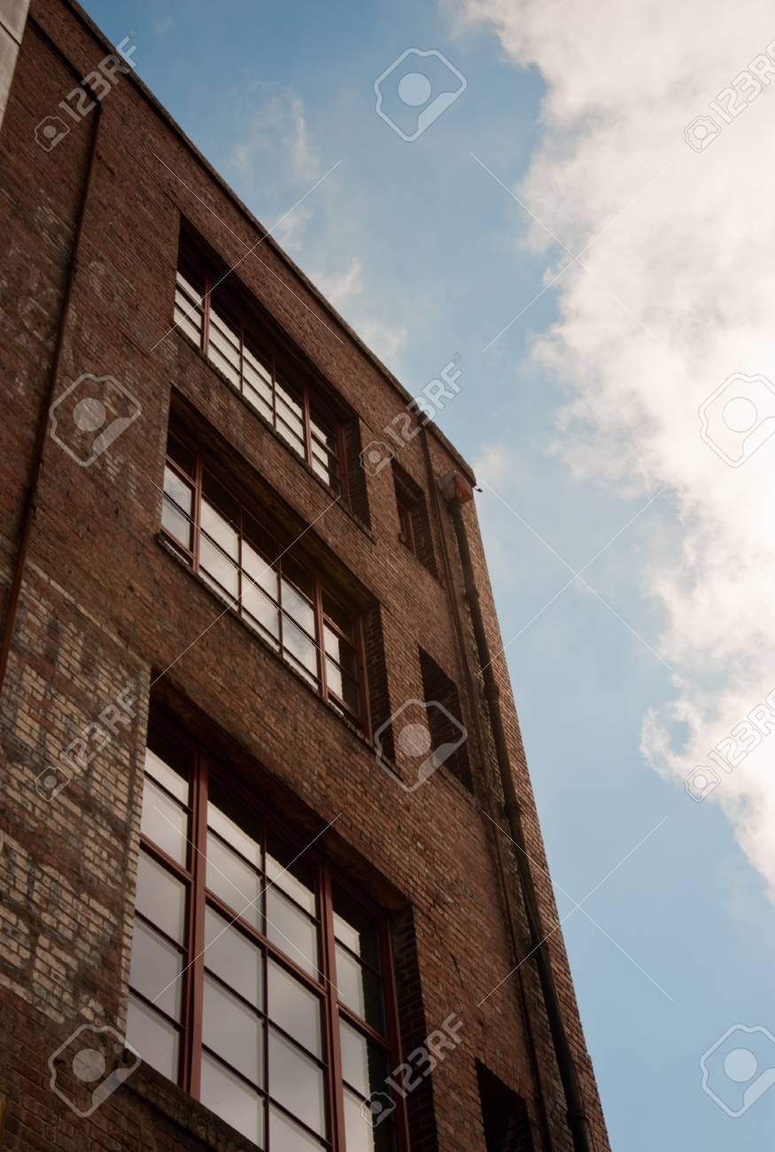 Old brick building in downtown Seattle - 72357607
