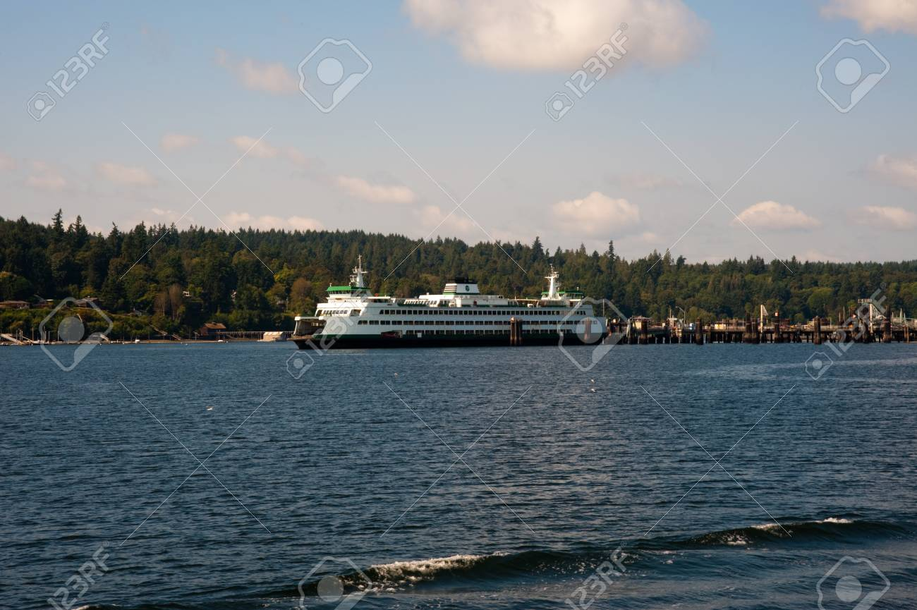 WA state ferry - 93376639
