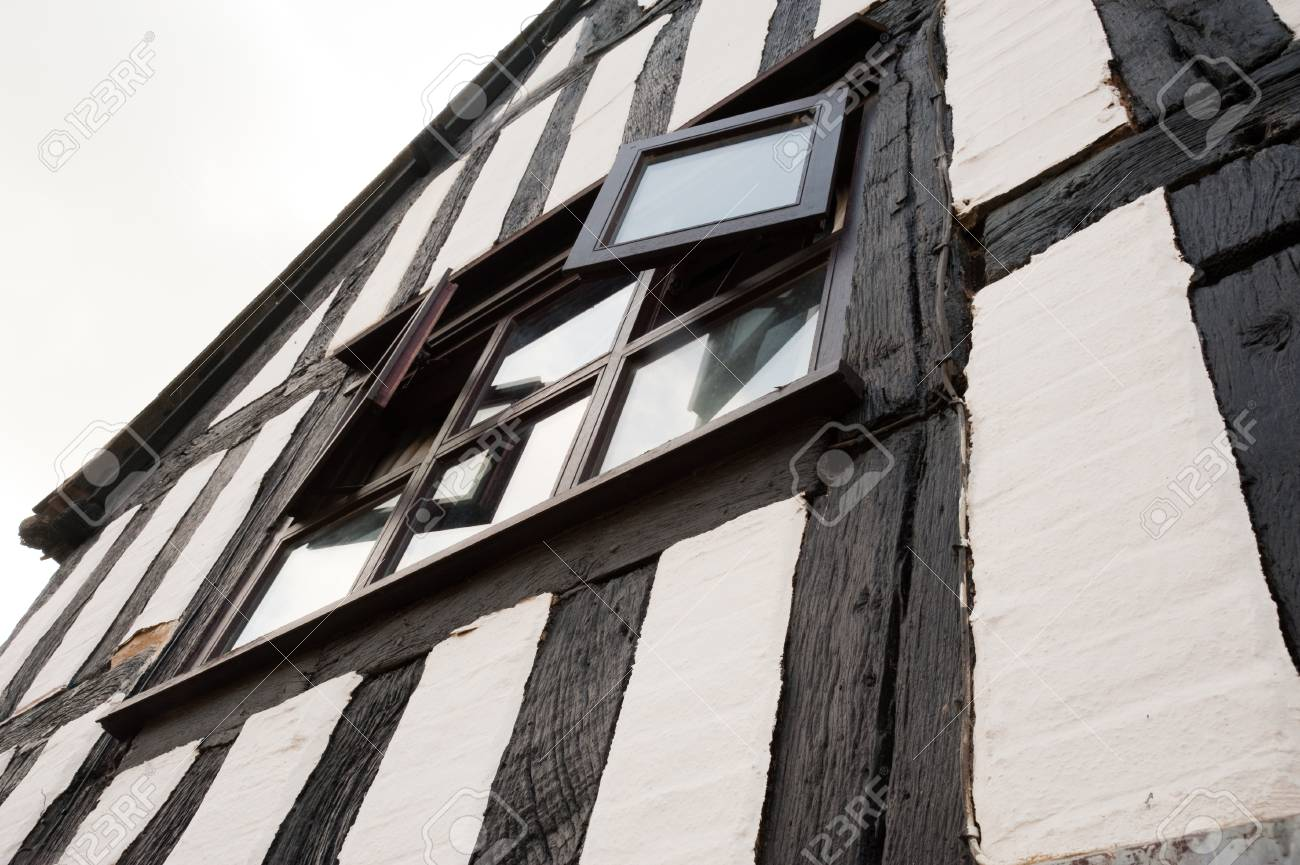 Half-timbered building in the United Kingdom - 106735712