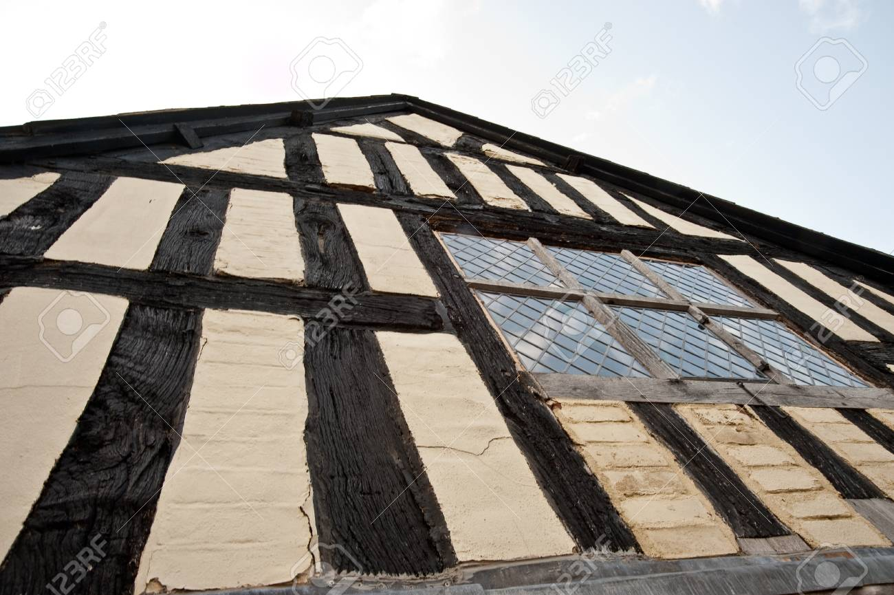 Half-timbered building in the United Kingdom - 106735767