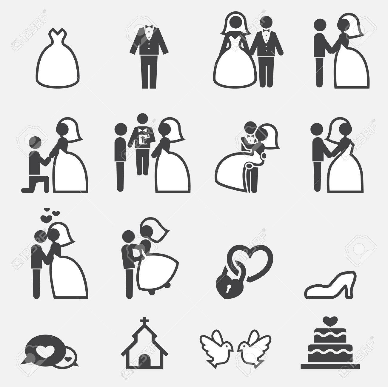wedding icon - 37441983