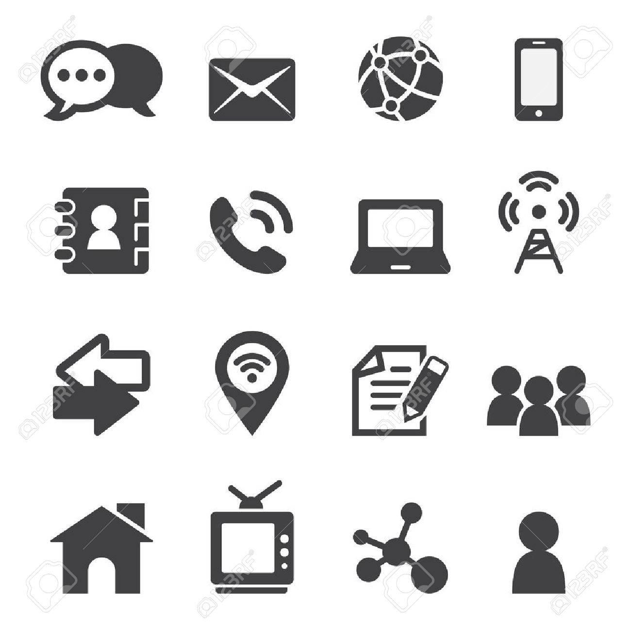 contact icon - 41198551