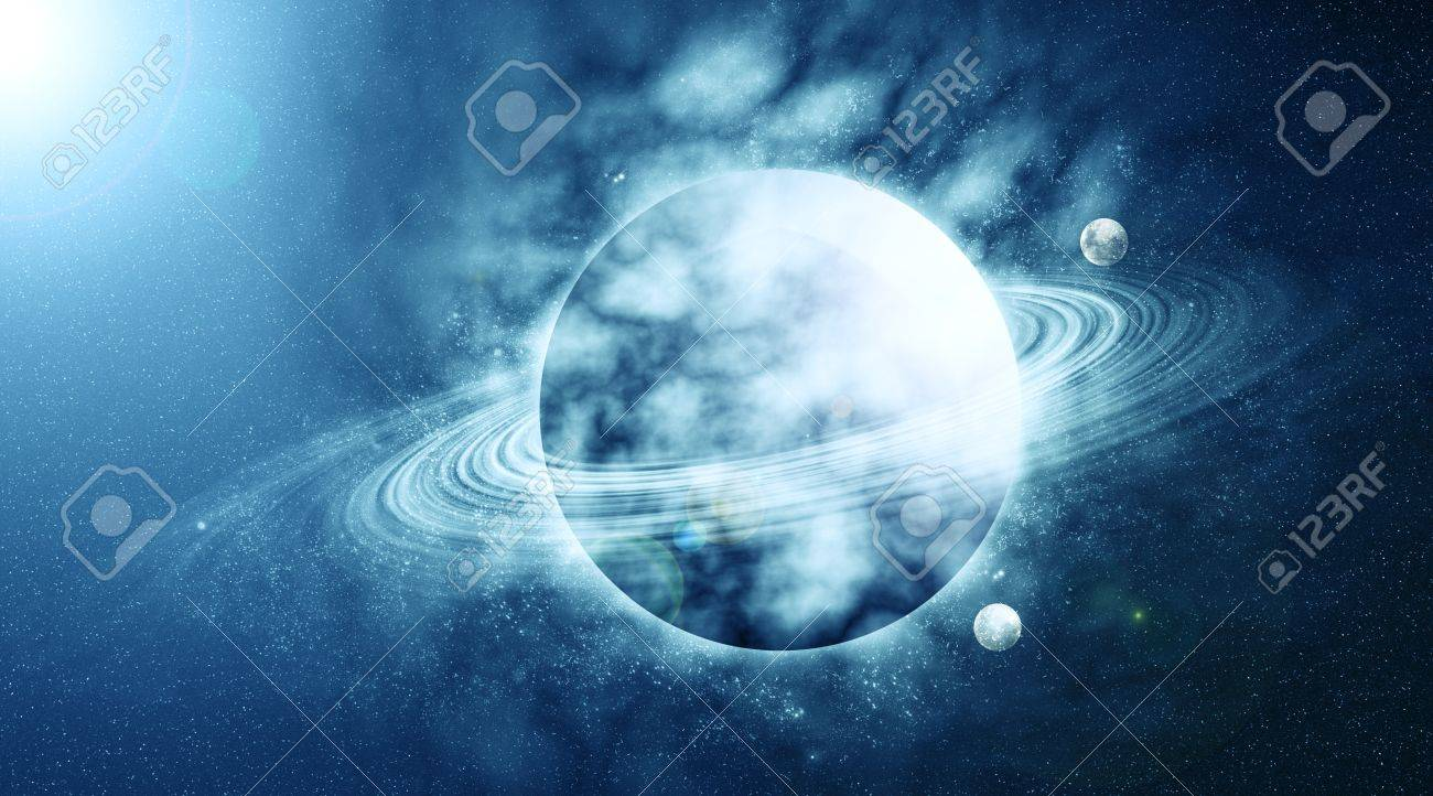 planet in beautiful space Stock Photo - 11481006