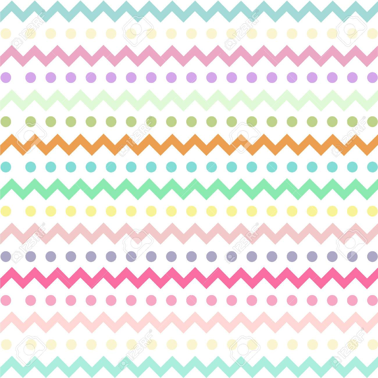 colorful chevron pattern for eggs easter day vector design royalty