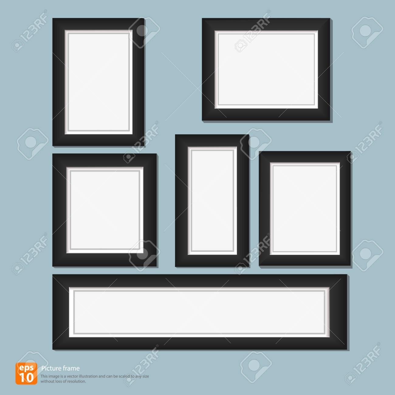 Modernen Bilderrahmen Lizenzfrei Nutzbare Vektorgrafiken, Clip Arts ...