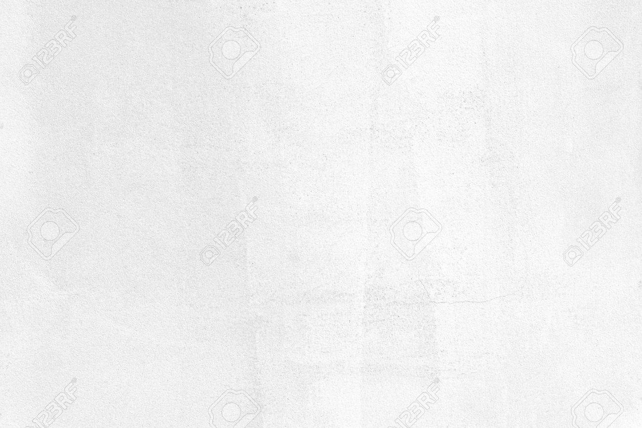 Blank concrete wall white color for texture background - 52175201