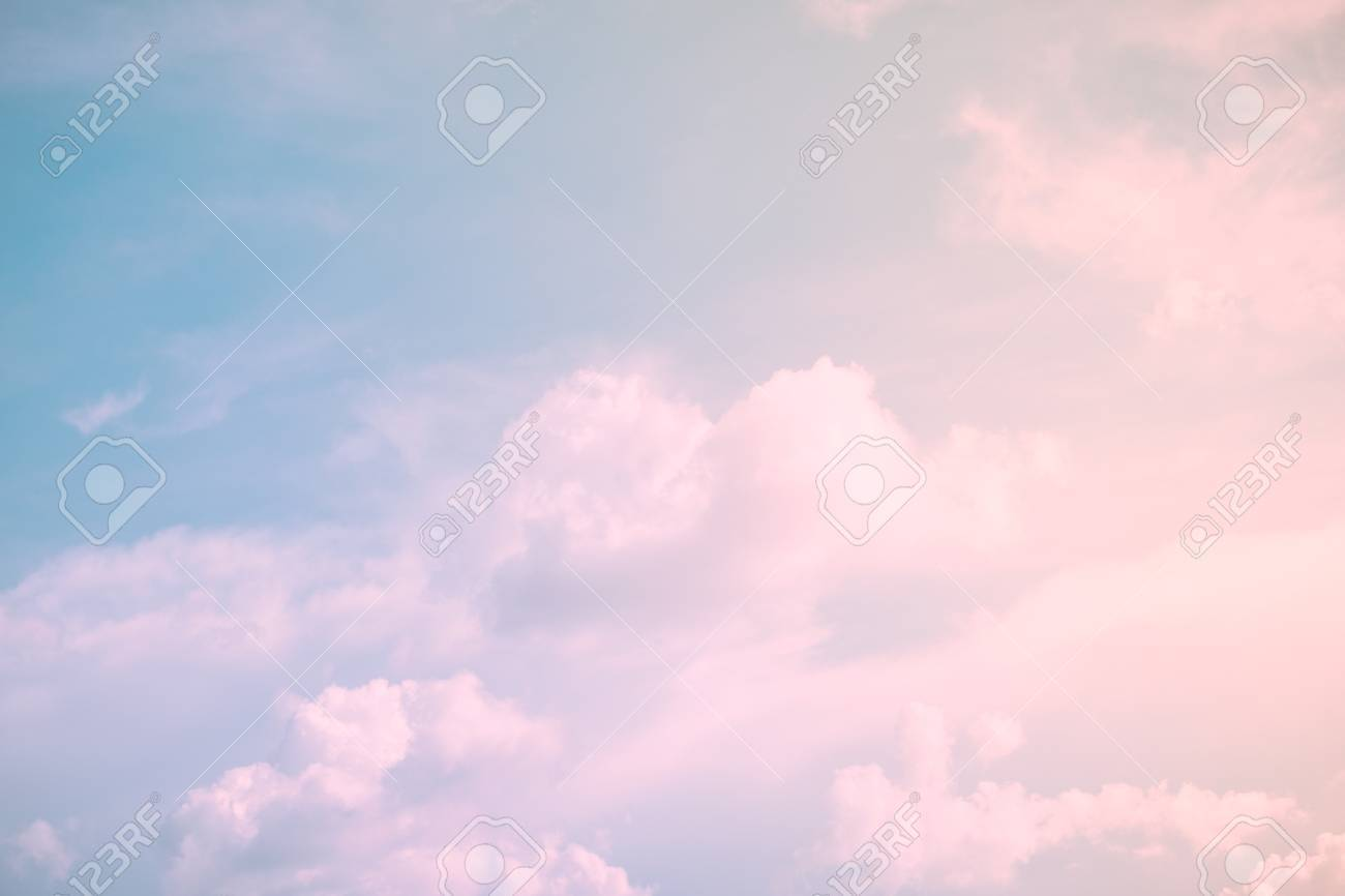 Nature Background Beautiful Landscape Of Sky Serenity And Stock