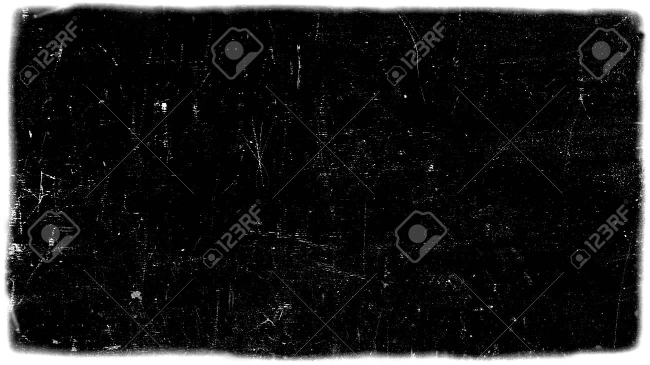 Abstract dirty or aging film frame  Dust particle and dust grain