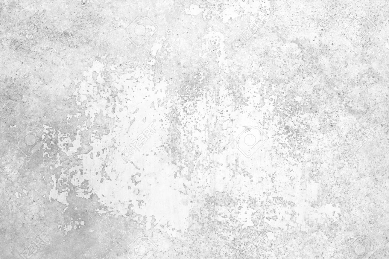 Grunge concrete wall white and grey color for texture background - 117902992