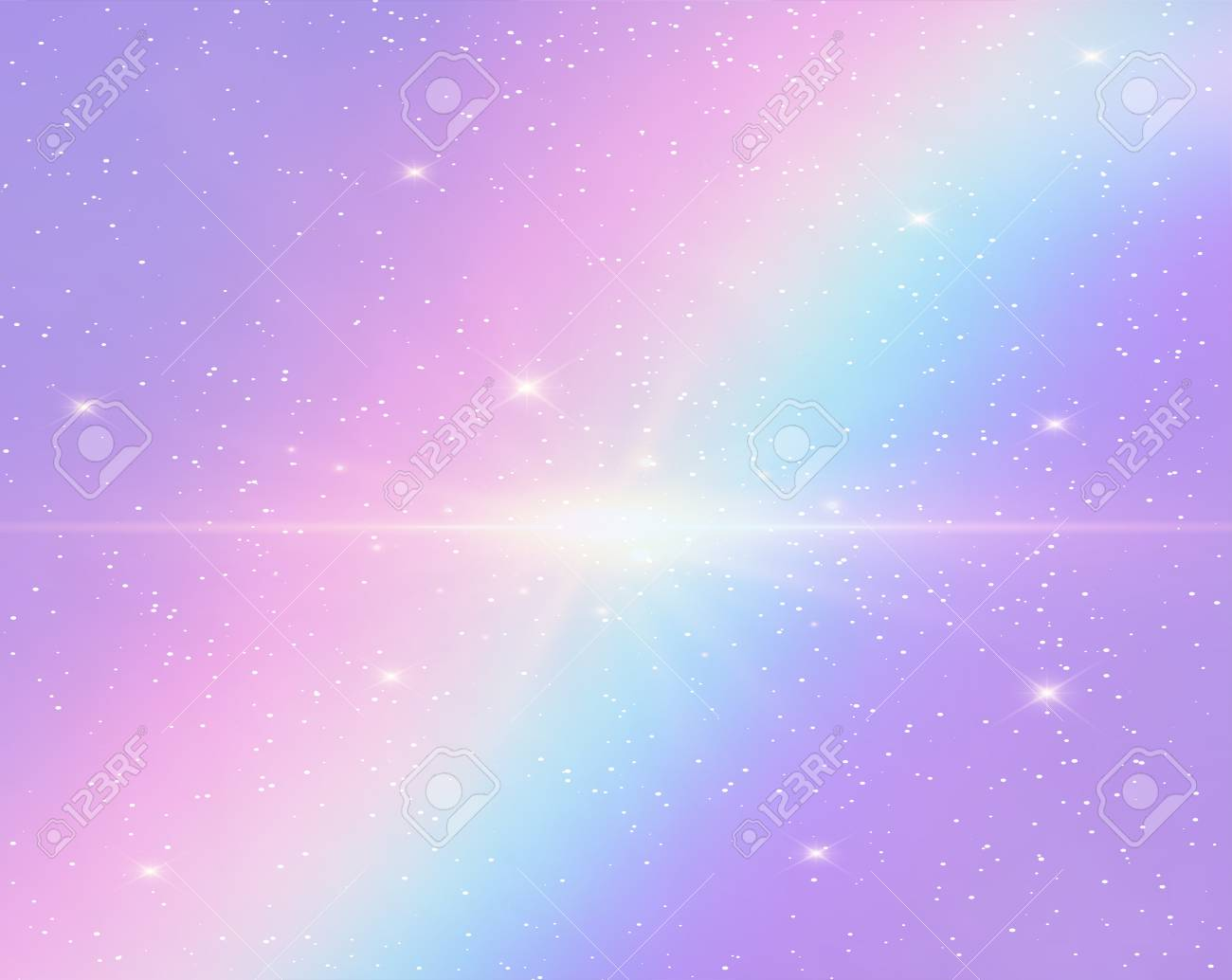 Galaxy Fantasy Background And Pastel Colorthe Unicorn In Pastel - pastel cute background design galaxy background