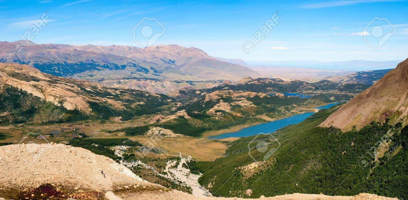 Beautiful nature landscape panorama in Los Glaciares National Park, Argentina Stock Photo - 11644969