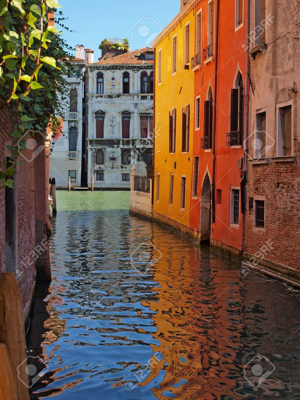Beautiful alley in Venice, Italy Stock Photo - 11695090