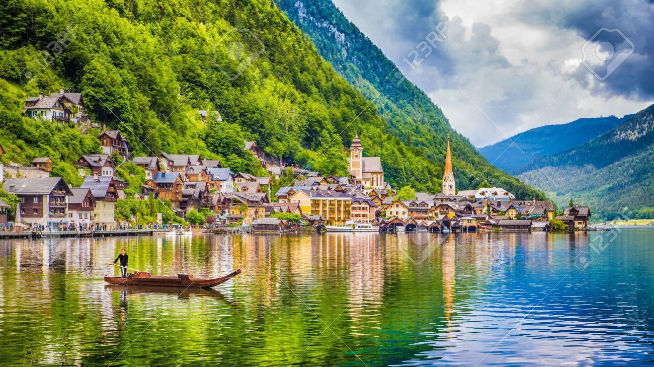 Resultado de imagen de lago Hallstatt