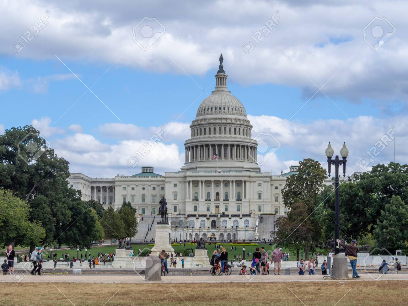 Washington DC, District of Columbia [United States US Capitol Building, architecture detail] - 136825036