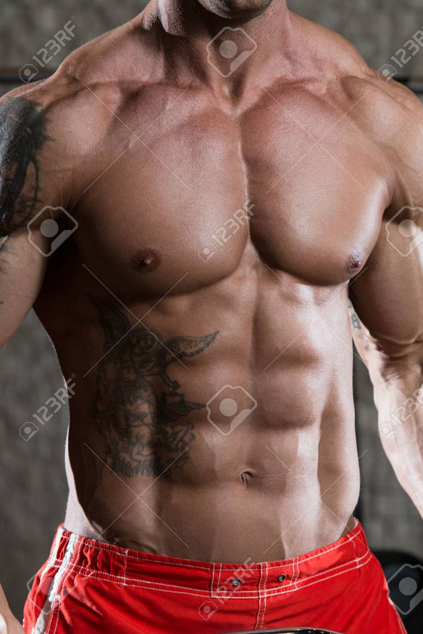 Close Up Of A Perfect Abs Stock Photo - 40021436