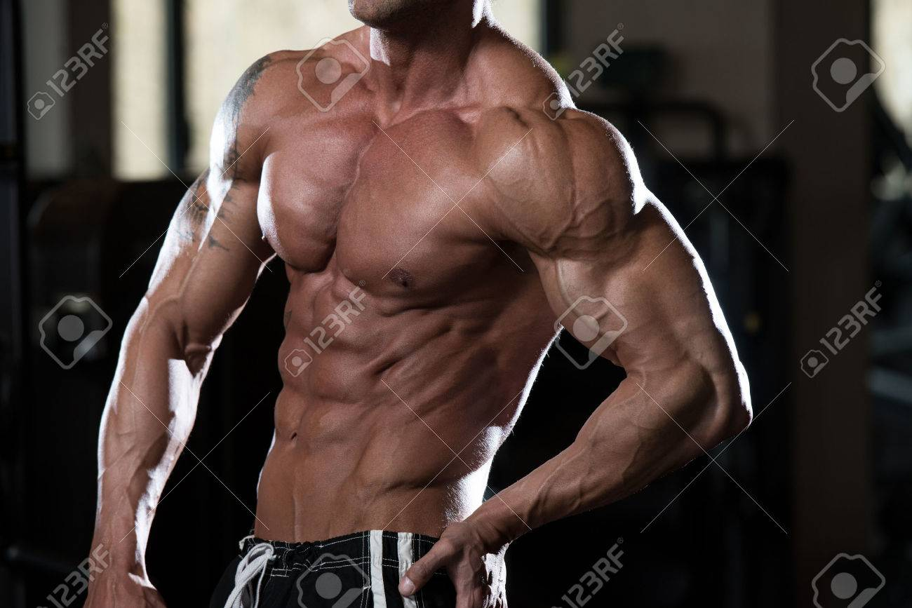 Close Up Of A Perfect Abs Stock Photo - 40647169