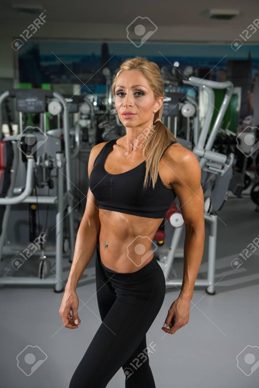 Körper frau trainierter Attraktive Fitness