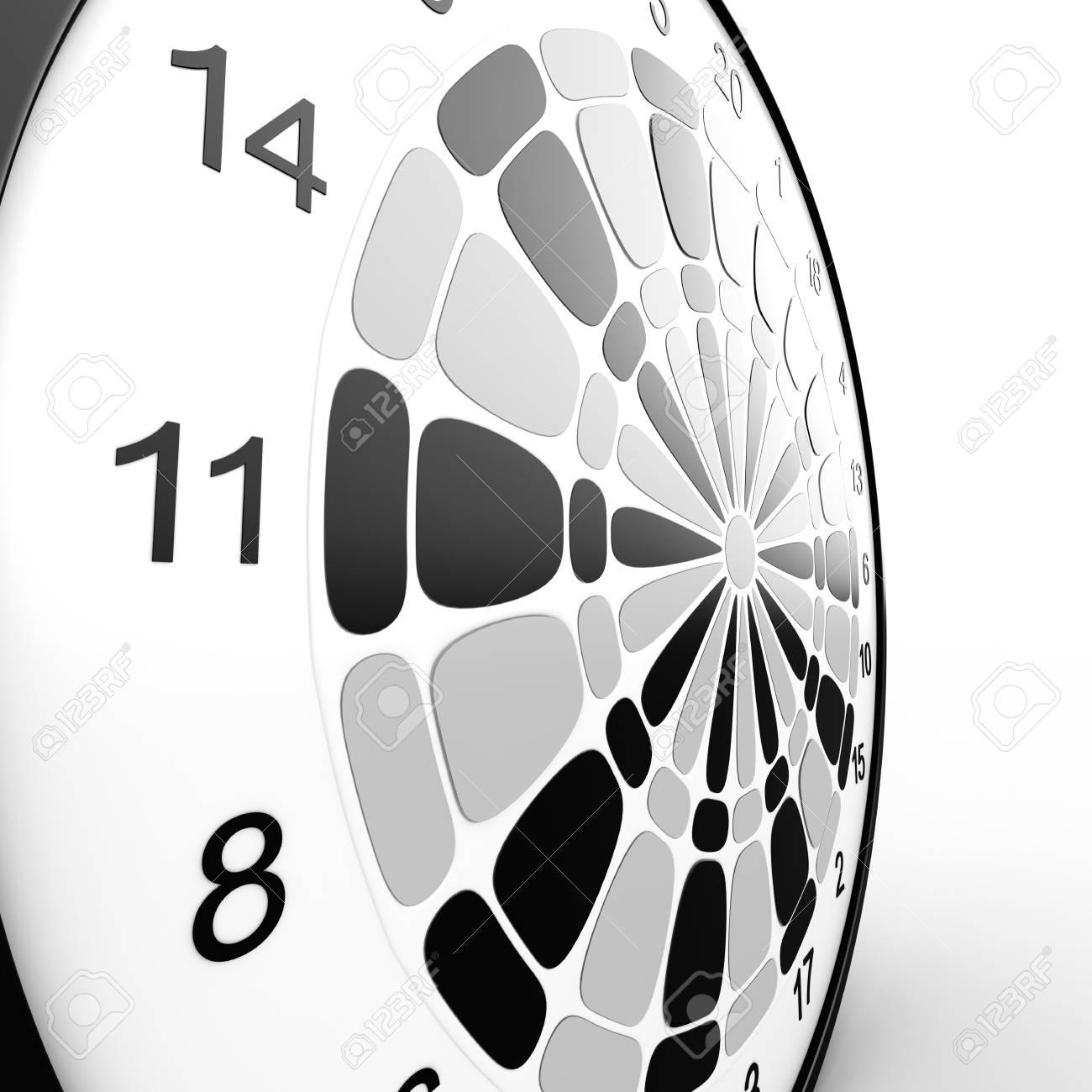 Dart Board  3D rendered illustration over white background Stock Photo - 13125939